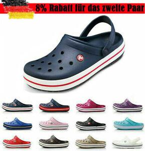 Unisex Crocband Schuhe Clogs Strandschuhe Slippers Hausschuhe Sandale Badeschuhe
