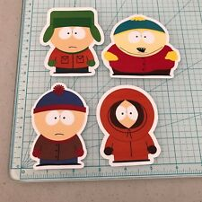 South Park 4 Sticker Pack 3.5 inch Sticker white Vinyl laptop Decal