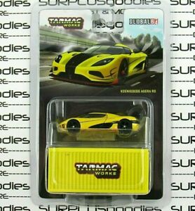 Tarmac Works 1:64 Scale 2021 Global64 Yellow KOENIGSEGG AGERA RS T64G-005-ML