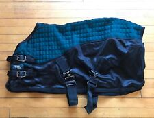 """Le Mieux Thermo Cool Cooler Blanket Rug Miniature Shetland Peacock Green 36"""" 3'"""
