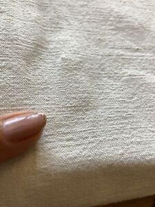 très jolis drap ancien en lin chanvre /3106V8