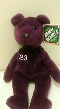 Bamm Beanos David Justice #23 Bean Bag Plush 9 inches with tag