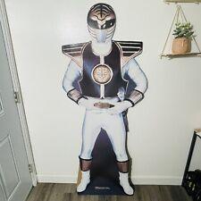 Power Rangers 1994 Vinatge White Ranger #165 Cut Out New Never Used