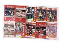 10 Vintage Arsenal Home Matchday Programmes 1970''s And 1980's Div 1 Fa Cup Prem