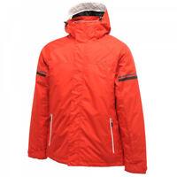 Dare2b Analyze Jacket Mens Waterproof Windproof Breathable Padded Ski Red Alert