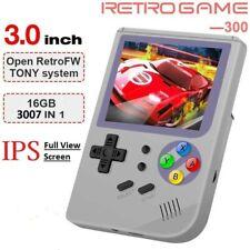 Retro FC Console RG 300 Video Game Player 16 GB w/ 3000 GAMES Tony System * Grey