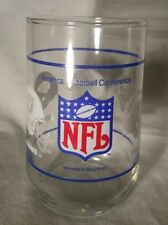 Vintage American Football Conference Western Division Glass Tumbler