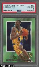 1996-97 Skybox E-X2000 #30 Kobe Bryant Lakers RC Rookie HOF PSA 8 NM-MT