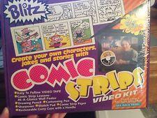 BLITZ HOW TO DRAW COMIC STRIPS  DVD VIDEO KIT NEW SEALED BRUCE BLITZ