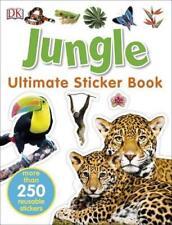 Jungle Ultimate Sticker Book (ultimate sticker Books) by DK Paperback book 9