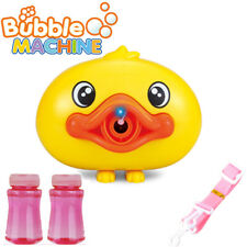 Bubble Machine Blower Duck Camera Bubble Kids Toys for Toddlers