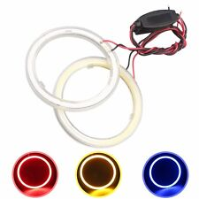 2pcs 120MM Car LED Angel Eyes COB 93 SMD Halo Rings Fog Lights Headlight 12V 24V