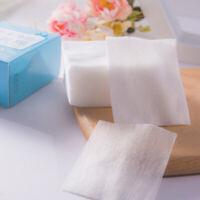 JW_ FT- 100Pcs Squares Facial Cotton Pad Nail Polish Makeup Remover Cleaning T