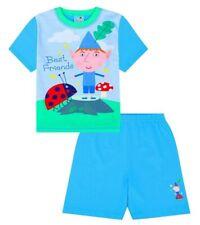 Ben and Holly Boy's mejores amigos Pequeño Reino Corto Pijamas