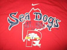 Nike PORTLAND SEA DOGS Minor League Baseball Est 1994 (XL) T-Shirt