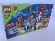 LEGO DUPLO CIRQUE Boxed Set 10504 Inc Éléphant Tigre Cheval Clown Ring Master