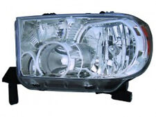 New Toyota Tundra 2007 2008 left driver headlight head light