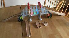 Disney Pixar Cars 2 Tokyo Rainbow Bridge Toys R Us Wood Collection Playset