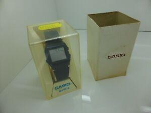 1987 Vintage Casio W-50U-1V World Time Digital Watch BOXED Made in Japan