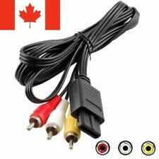 Nintendo Audio Video Cable / FOR N64 SNES GAMECUBE / NEW - FAST SHIPPING!