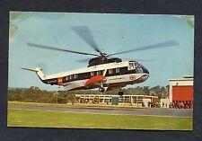 C1970s View of a B.E.A S61N Helicopter at Penzance Airport.
