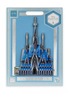 Disney Store Castle Collection Arendelle Frozen Pin 2/10 new sealed Elsa Limited