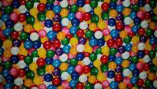 Custom - Gumball Bubble Gum Ball Candy Machine White Bath Hand Towel Set 2