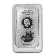 Lingot SMI 50g Argent pur 999 / COOK ISLANDS BOUNTY 50 Grams Fine Silver 999 Bar