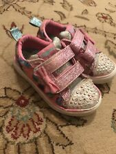 Girls size 10 causal Twinkle Toe sneakers
