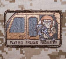 FLYING TRUNK MONKEY ARMY MORALE USA MILITARY DESERT VELCRO® BRAND FASTENER PATCH