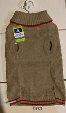 Top Paw Knit Dog Sweater - Khaki