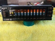 Sony Xe-700 10 Band Equalizer Old School Spectrum Analyzer Vintage