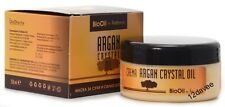 Bio certified Argan Crystal Oil Hair Mask dry and Damaged Hair 250ml