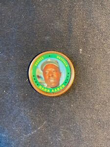 1971 Topps COins  group of 8 #3 Aaron & Carew