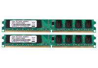 2X 2GB DDR2 800MHz PC2-6400 240PIN DIMM Desktop Memory RAM For AMD Motherboard