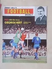JIMMY HILLS FOOTBALL WEEKLY MAGAZINE AUGUST 16th 1968 SHEFFIELD UNITED