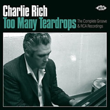CHARLIE RICH-TOO MANY TEARDROPS: THE COMPLETE GROOVE & RCA...-JAPAN 2 CD H93