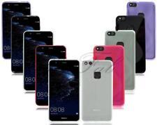 Cover e custodie nero Per Huawei P10 in silicone/gel/gomma per cellulari e palmari