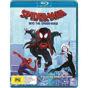 Spider-Man: Into The Spider-Verse Blu-Ray *No Shrinkwrap*