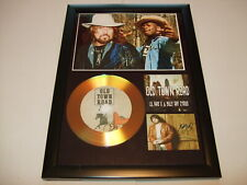 BILLY RAY CYRUS    SIGNED  GOLD CD  DISC