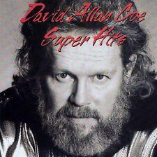 DAVID ALLAN COE : SUPER HITS / CD - TOP-ZUSTAND