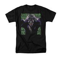 The Joker Insanity Batman DC Comics Adult T-Shirt