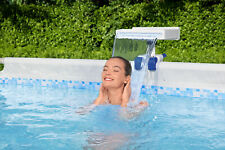 More details for bestway flowclear soothing multicoloured led waterfall for above ground pools