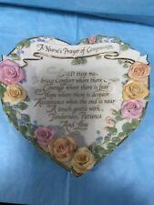 A Nurse'S Prayer Plaque-Bradford Exchange-rw