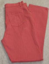 Gloria Vanderbilt 12 Average Coral Pink Amanda Cotton Ultra Stretch Jeans