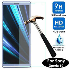 For Sony Xperia 10 Anti-Scratch Tempered Cover Glass Guard Film Screen Protector