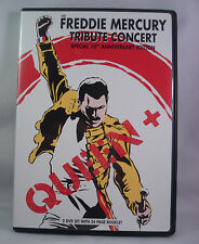 QUEEN + The Freddie Mercury Tribute Concert (DVD, 2-Disc Set, Special Edition)