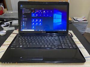 Toshiba L655-S5096  i3-380M INTEL CPU   4GB Ram 500GB HDD   WIN 10 HOME