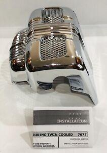 Kuryakyn Chrome Lower Coolant Oil Pump Cover For Select Harley Davidson Models
