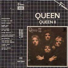"QUEEN ""QUEEN II"" SPANISH CASSETTE FAMA WITH SPANISH TITTLES / FREDDIE MERCURY"